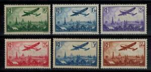 timbres France P.A n° 8/13 neufs* année 1936
