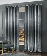 Crushed Velvet Premium Bedding Collection Ombre Silver Grey Bedding Set