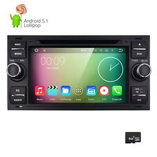DAB+ Android 5.1 car dvd player gps FORD FOCUS FIESTA TRANSIT KUGA FUSION