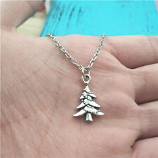 New Christmas Tree silver Necklace pendants fashion jewelry accessory,creative