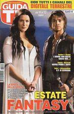 rivista GUIDA TV ANNO 2011 NUMERO 29 BRIDGET REGAN E CRAIG HORNER
