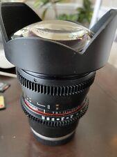 rokinon 14mm 3.1 Cine Sony Mount