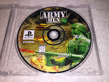 Army Men 3D (Sony PlayStation 1, 1999) PS1 Black Label Game in Plain Case Nice!