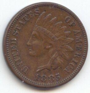 1885 Indian Head Cent, Sharp XF