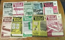 30 Vintage EASI-BILD Easy Build Plans * Woodworking Home Products Kitchen