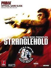 NEW STILL SEALED STRANGLEHOLD PRIMA GUIDE (2007, Paperback) w/hard boiled poster