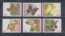 Cape Verde 1982 Butterflies  Sc 457-462   mint never hinged