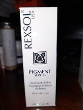 Rexsol Pigment Serum Treatment of Hyperpigmentation melasma New Sealed