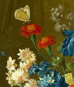 Portfolio, National Gallery Greeting Card Flowers in a vase by Van Brussel