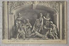 """CPA """" LE MANS - Intérieur de la Cathédrale - Mise au Tombeau du Christ"""