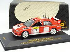 Ixo 1/43 - Mitsubishi Lancer WRC Monte Carlo Rally 2002