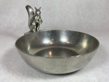 Squirrel Nut Bowl by Just Andersen Denmark Mid-Century Modern Pewter Collection