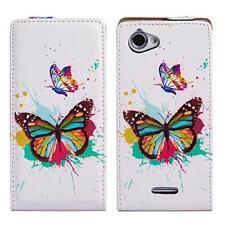 Handy Tasche Flip Case Schutz Hülle Sony Xperia L /C2105/C2104 Butterfly M578