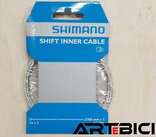 Filo cambio originale SHIMANO cavo acciaio inox + capofilo bici CORSA MTB GRAVEL