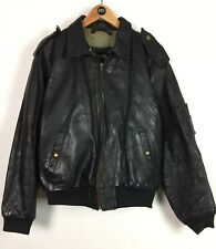 Mens Chevignon Leather Jacket / Large / Expression / Biker / Flying / Casual