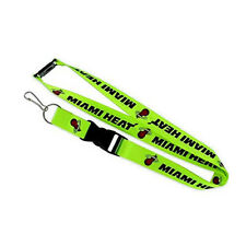 Miami Heat Lanyard, Green Neon