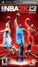 NBA 2K13 PSP UMD PlayStation Video Juego UK release