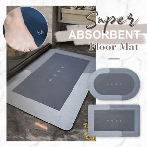 Super Absorbent Floor Mat Soft Quick-Drying Non-Slip Diatom Mud Bath Floor Mat