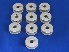 10 Bobinas, no 55623A, 21mm X 8.5mm funciona en Singer 20U, Brother, Juki + MÁS