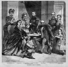 ROYAL FAMILY OF PRUSSIA, QUEEN AUGUSTA, KING WILLIAM, PRINCESS VICTORIA DUCHESS