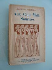 Maurice Dekobra : AUX CENT MILLE SOURIRES (édition originale 1931)