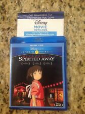 Spirited Away (Blu-ray/Dvd, 2015, 2-Disc Set)Authentic Disney Us Release