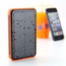Waterproof 100000mAh Portable Solar Charger Dual USB Battery Power Bank F Phone