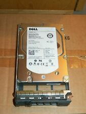 Genuine OEM Dell W347K 3.5 Inch 600GB 15K SAS Hard Drive With Caddy