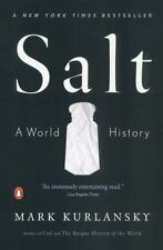 Salt A World History by Mark Kurlansky 2003 Paperback Preowned Book