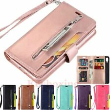 For Xiaomi Mi 9 A3 Redmi 7 7A Note 7 8 Pro Wallet Card Holder Leather Case Cover