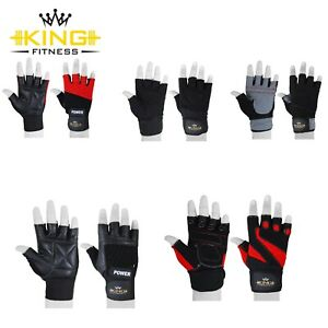 Weight Lifting Gloves for Gym Fitness Bodybuilding Training Wrist Support Straps