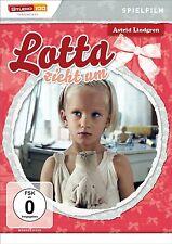 Astrid Lindgren LOTTA EN EL MOVIMIENTO Película de la característica DVD nuevo
