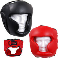 Face Protector Head Guard MMA Boxing Punch Helmet Kick Taekwondo Martial Arts