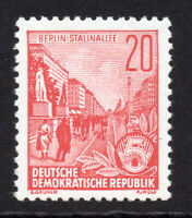 East Germany 20pf Stamp c1953-54 Unmounted Mint Never Hinged (5409)