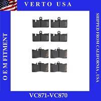 Verto USA Sensor-Brake Pad Sensor Wire Front  VBS20001