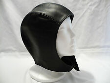 BICK Leather Vintage Style Aviator Cap/Motorcycle Skull Cap-Soft Leather Size XL