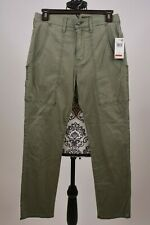 Hudson Jeans Women's Olive The Leverage High-Rise Ankle Cargo Size 25