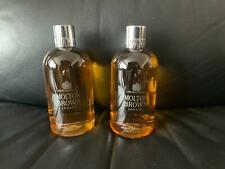 Molton Brown 2 x 300ml Invigorating Suma Ginseng Body Wash Bath & Shower Gel NEW