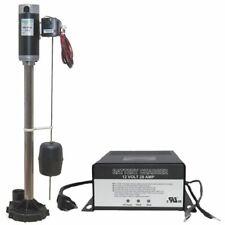 Zoeller 585 Aquanotampreg Ii Battery Backup Pedestal Sump Pump System 2160 Gp