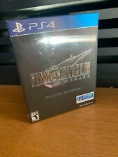 Final Fantasy VII: Remake Deluxe (PlayStation 4, 2020)