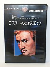 The Actress (1953 DVD) Spencer Tracy, Jean Simmons, Teresa Wright - VG+ Disc
