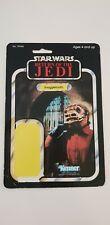Vintage star wars Snaggletooth PBP made in spain cardback