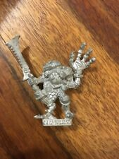 Warhammer Chaos Champion Of Tzeentch Bird Head Rare 80s