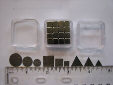Pyrolytic Graphite Levitation Kit--9 Graphite Shapes, Magnets, and Storage Case