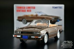 [TOMICA LIMITED VINTAGE NEO LV-N161a 1/64] DATSUN 200SX CUSTOM ROADSTER (Brown)
