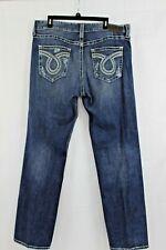 Big Star Pioneer Regular Boot Cut Denim Jeans Mens Size 38R 38 x 34