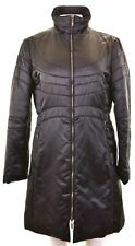 MISSONI Womens Padded Coat IT 46 Large Black Cotton  A311