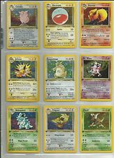 Pokemon Cards Complete 1st Edition Jungle Set! Near Mint/Mint Collector's Set!