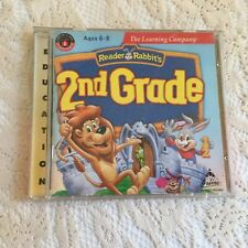 The Learning Company Reader Rabbit's 2nd Grade for PC  Windows 95/ Mac