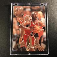 MICHAEL JORDAN 1994 FLEER FLAIR #326 WEARING 45 JERSEY CHICAGO BULLS NBA MJ